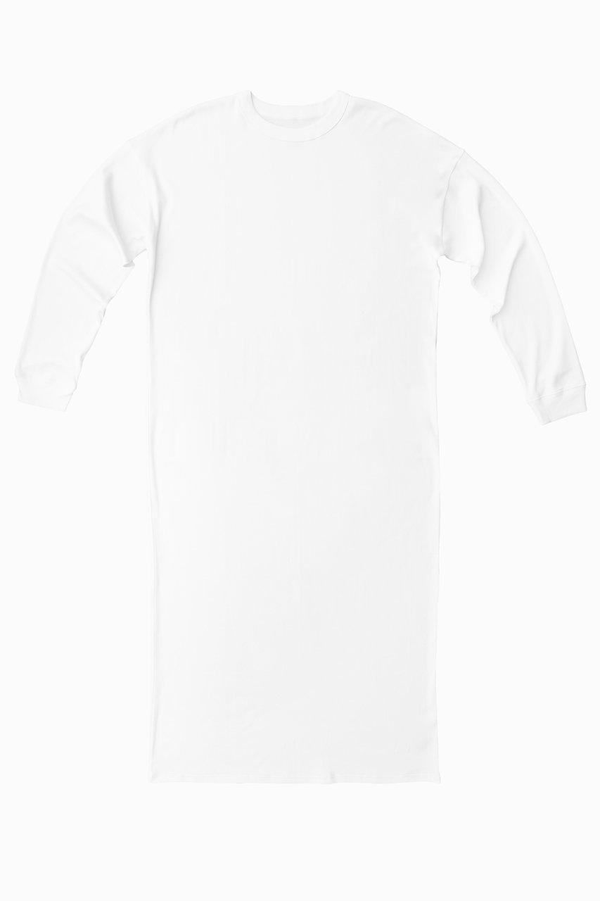 Ultimate Pima Organic Cotton LOOSE FIT LONG SLEEVE TUNIC