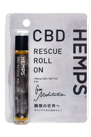 HEMPS CBD RESCUE ROLL ON メディテーター