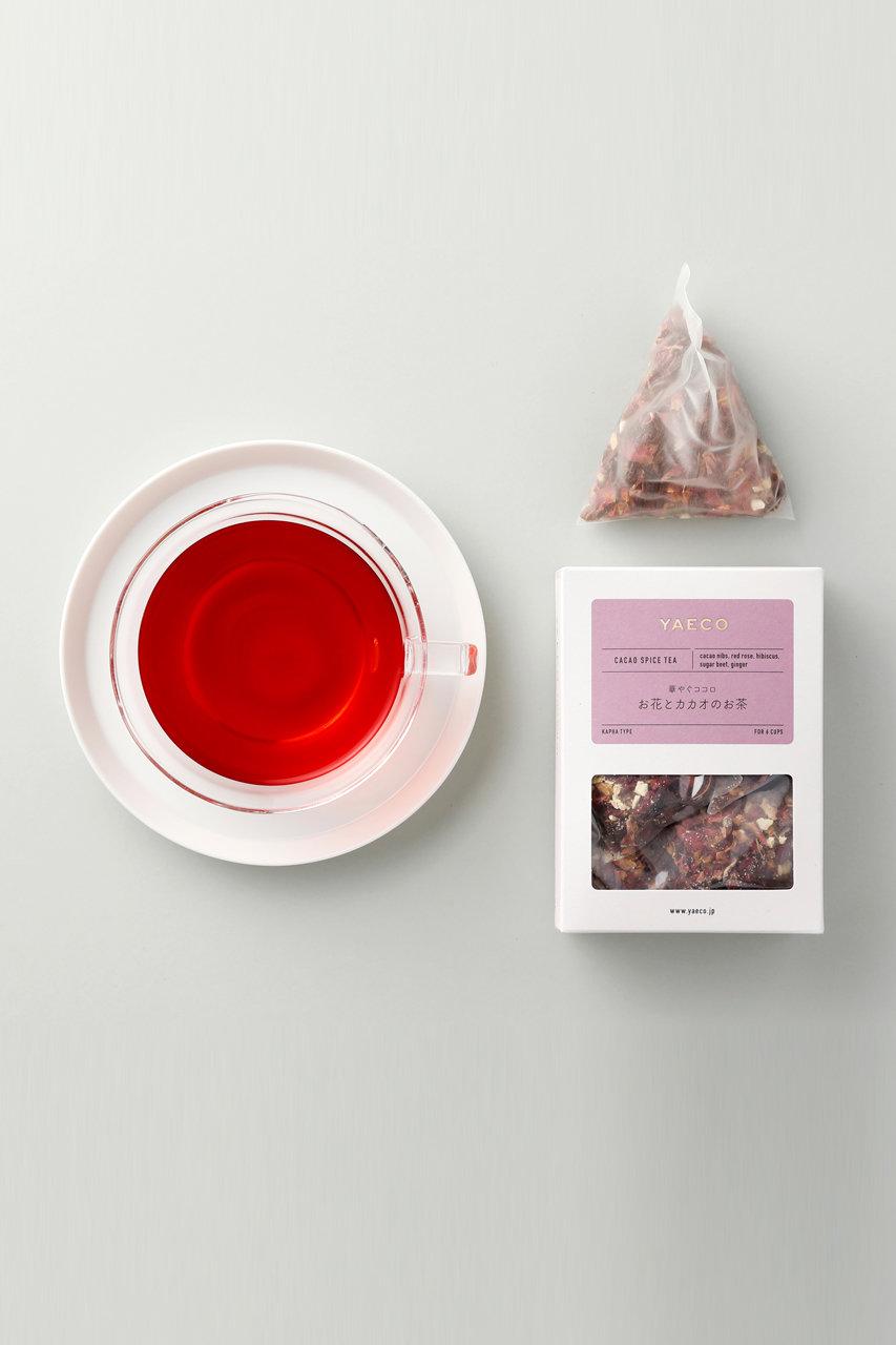お花とカカオのお茶 カラダを整えるカカオティー