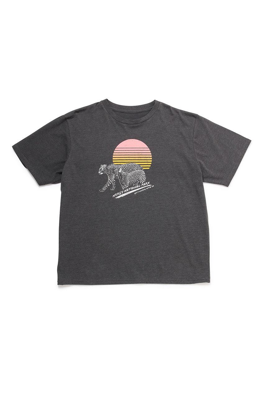 アニマルグラフィックビッグTシャツ